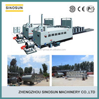 SINOSUN 6-8t/h energy saving drummed asphalt melting equipment