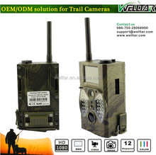 1080P GPRS GSM MMS IP Hunting Trail Security Camera With Alarm System