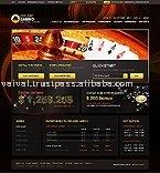 Dynamic flash website