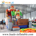 2017 Inflatable Bounce with slide,inflatable slide ,dry slide