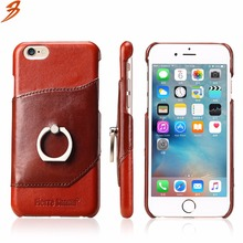 2017 Newest Factory Price Genuine Leather Cell Phone Case back Cover For Iphone 6
