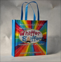 Colorful Laminated shopping bag (NW-645)