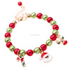 Fashion Individual Santa Clautss Reindeer Crutch Bracellet Beautiful Unisex Alloy Bangles Anniversary Christmas Decorate Jewelry