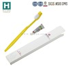 Disposable travel toothbrush with mini toothpaste,Hotel Dental Kit