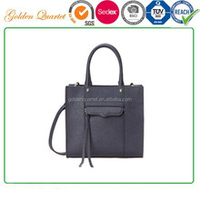customize 2018 lady fashion design tote bags / leather handbag for women