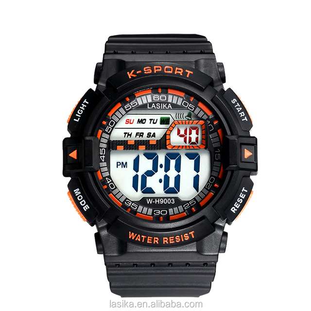 Alibaba China digital cheap wrist watch for men in bulk sport watch digital waterproof watch