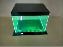 Fashion and durable plexiglass acrylic display case led acrylic shoe box