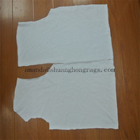 No prints white cotton cleaning rags