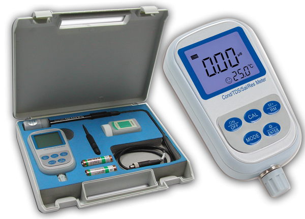 Portable Conductivity/ TDS/Sal./Res.Meter