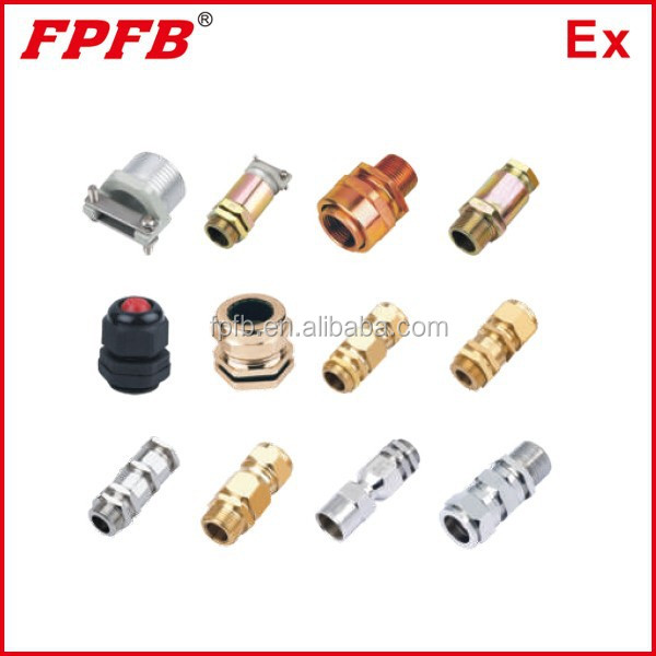 Brass Explosion-proof cable gland