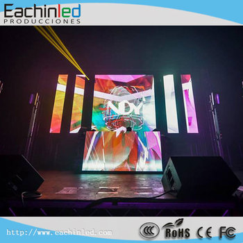 P2.5 SMD2121 led Vedio Wall Screen /Shenzhen City Indoor Flexible Ultra Light & Thin LED panel