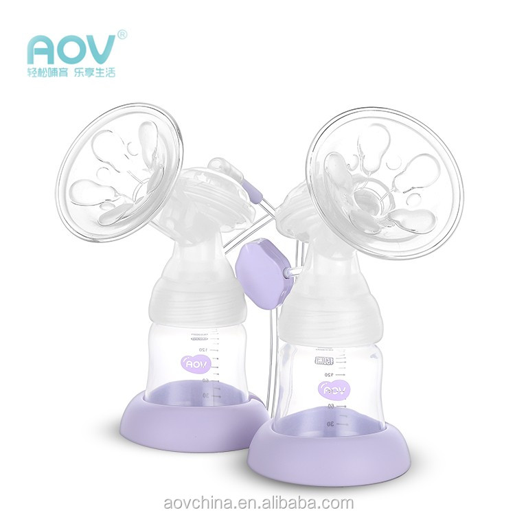 LCD Showing Level/Working Level Can Be Choose/Double Side Working/Double Electric Breast Pump