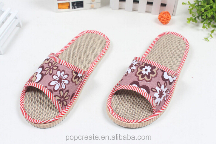 Flax warm new style winter indoor bath <strong>slipper</strong>