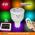 Mi-Light 2.4G 4W Smart RGBW White/Warm White LED Bulb Light+ RF Remote + WiFi Controller