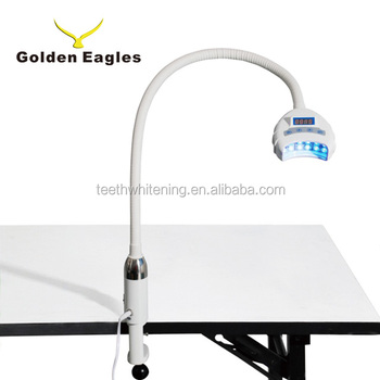 Portable spa / beauty salon low laser teeth whiten machine LED Teeth whitening lamp table unit