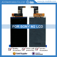 China original mobile phone lcd screen replacement for Sony M2 lcd display