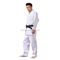 Martial art karate uniform white kimono karate