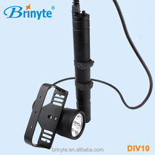Powerful Underwater Led Scuba Canister Diving Light Brinyte DIV10
