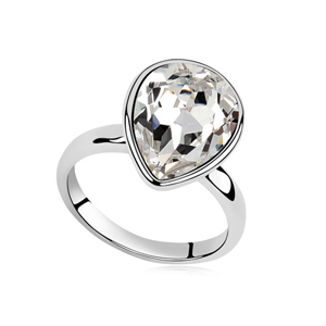 Nickle And Lead Free Crystal Rings Jewellery For Women