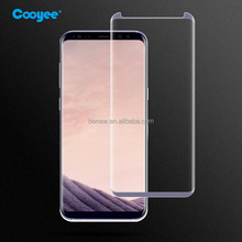 Anti-Shock 3D Tempered Glass Screen Protector Guard For Samsung Galaxy S8 Plus Case-friendly Glass Screen Protector