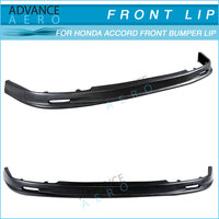 FOR 94-95 HONDA ACCORD MUGEN STYLE URETHANE PU FRONT BUMPER LIP SPOILER BODY KITS