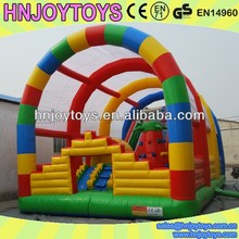 Joy For Life Inflatable Combo Unit, Castle Games Inflated Air