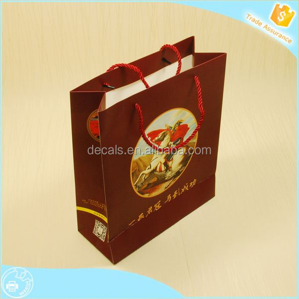 Get 100USD coupon matt laminated paper carrier bags