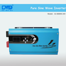 Marine pure sine wave inverter grid tie house power inverter DC 12v 24v 48v to AC 220v 3000w for laptop computer