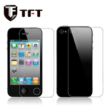 0.33mm/2.5d 9H high quality clear tempered glass screen protector for iPhone4/4S