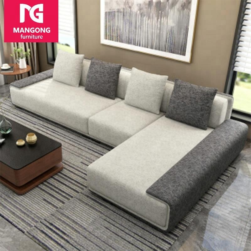 New style modern l shape sofa set <strong>furniture</strong>