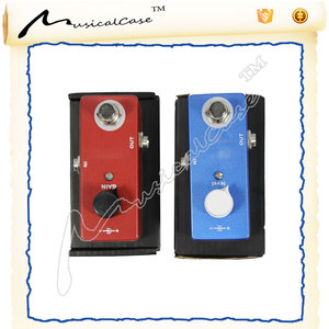 Guitar Bass Effects chorus Pedal Three Models Mad Drive Overdrive