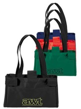 Customized New Designed Long Shop The Cart Laminated Grocery Tote Bag