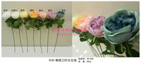artificial flowers rose decoration of houses interior