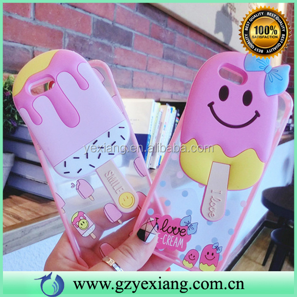 Phone Accessories Case 2016 Cartoon Silicon TPU Case For Iphone 7 Free Sample Phone Case