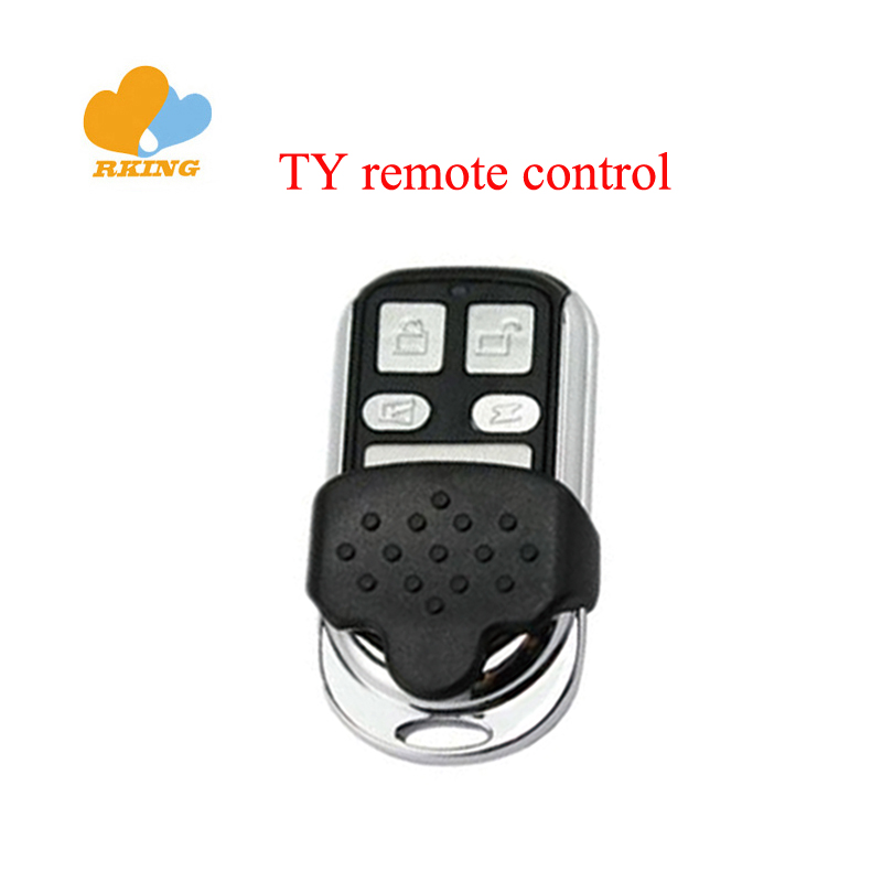 TY90 copy remote control auto gate and car key 300-500mhz metal case 4 buttons