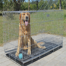"Cheap 24"" 30"" 36"" 42"" 48"" 60"" Inch metal wire dog cage pet crate dog crate"