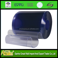 transparent clear flexible soft freezer polar pvc strip curtain roll for cold room