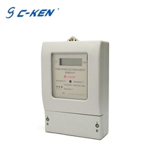 China Supplier 380V Wholesale 3 Phase Electric LCD Digital Display smart kwh meter
