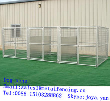 China supplier wholesale heavy duty 5mm wire welded dog pens steel tube frame dog playpens easy installation indoor dog pens