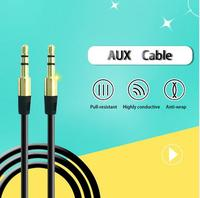 3.5mm Male Audio Stereo Jack 3.5 mm Aux Cable for iPhone 6 Usb Car mini Speaker Headphone Extension Cable Wire Aux Cord