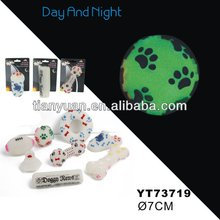 Vinyl glow in the dark pet toys(New design)