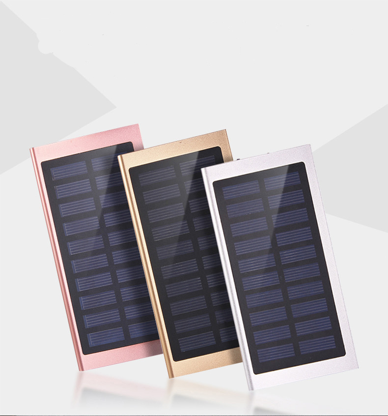 Trending Hot New Products Solar Power Bank10000mah, Cell Phone Solar Panel usb Battery Charger