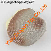 Small cute and beautiful plastic sea shell