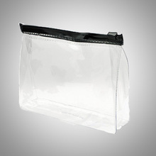 Wholesale Promotion PVC clear Toiletry Travel Lady Makeup Pouch