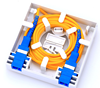 Indoor Wall Mounted 86 Type 2 Port FTTH Fiber Optic Face Plate,Fiber Termination Box