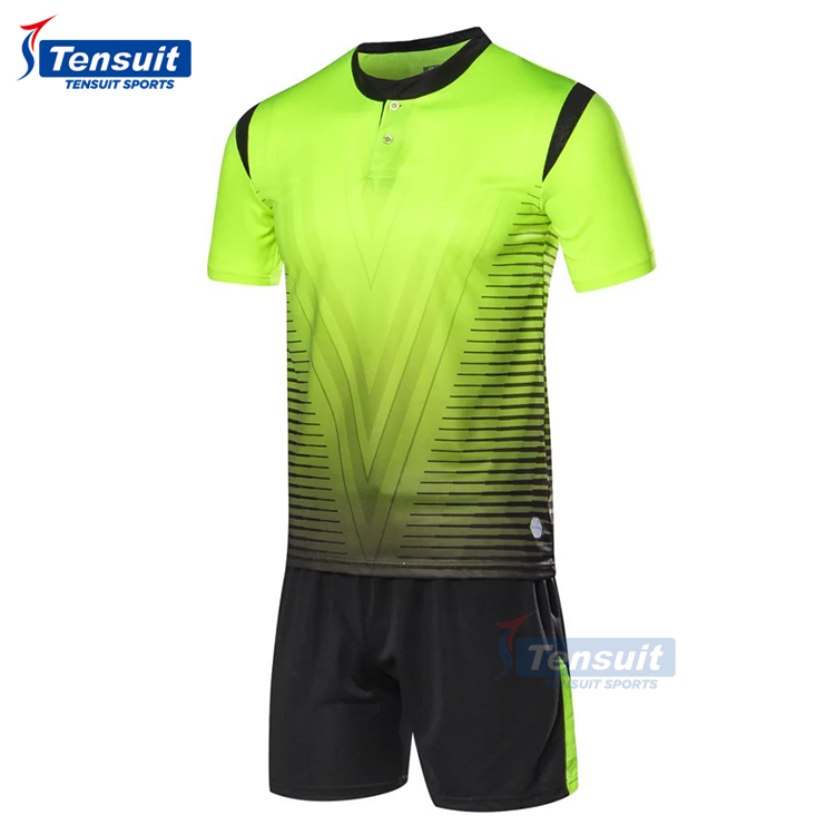 Fotboll soccer jersey plain uniform make your own logo and number football shirt hot club team jersey polyester fabric dry fit