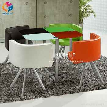 China manufacturing tempered glass dining table