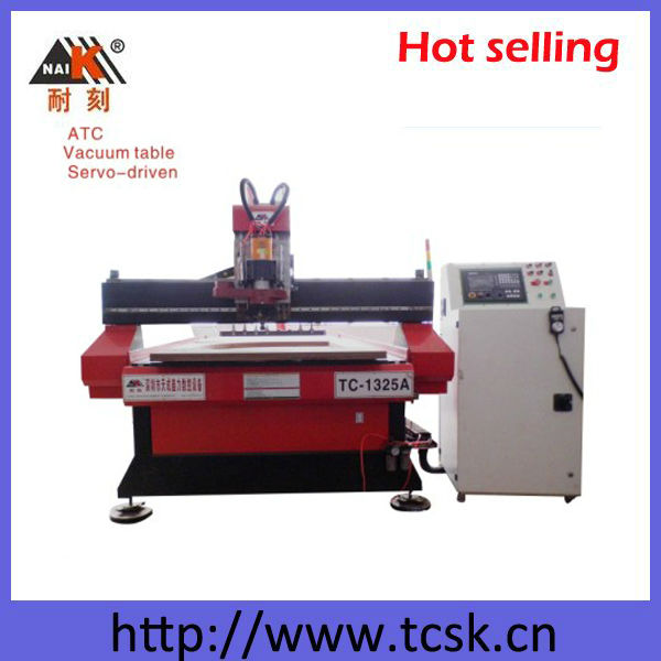 (TC-1325A) High Accuracy CNC Engraver Auto Tools Changer