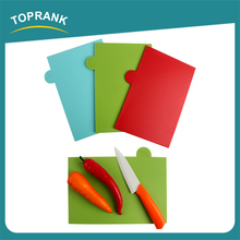 Multi color food grade PP plastic coded index chopping board