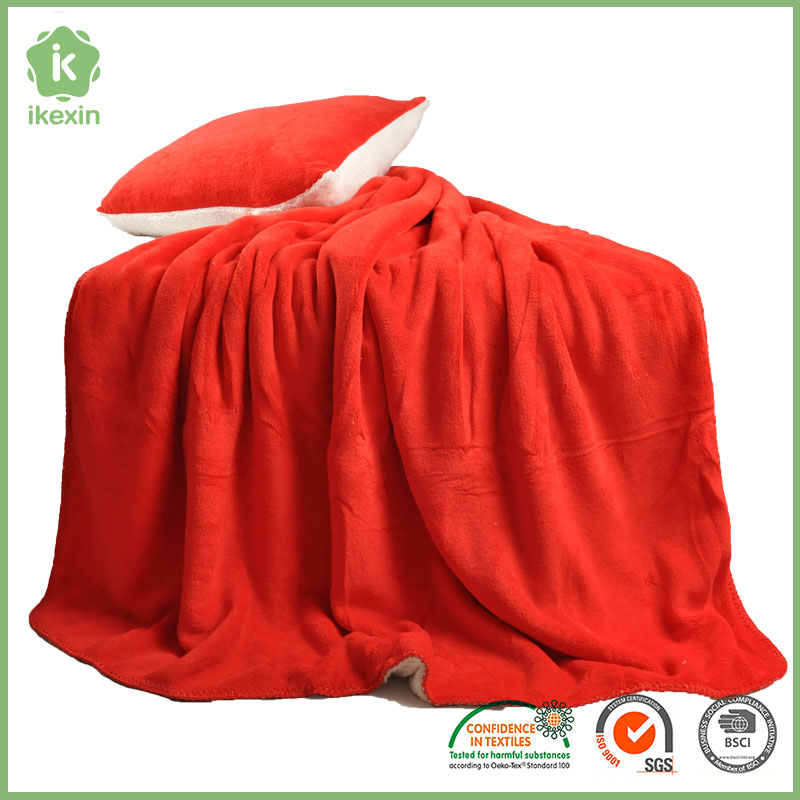 Eco Friendly Flannel New Design Life Comfort Blankets